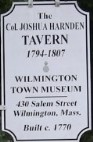 Harnden Tavern Sign