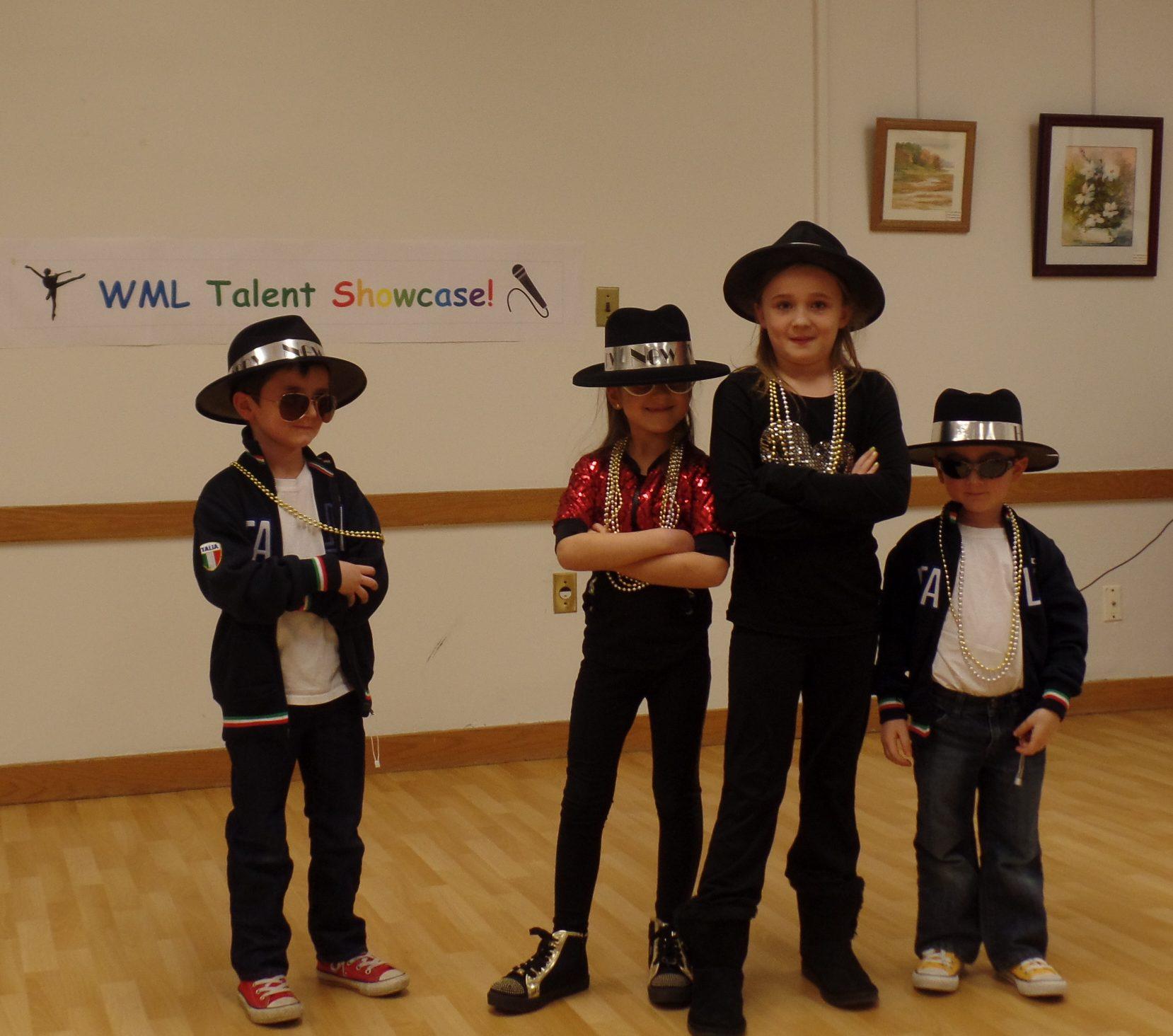 Kids Talent Show Performers