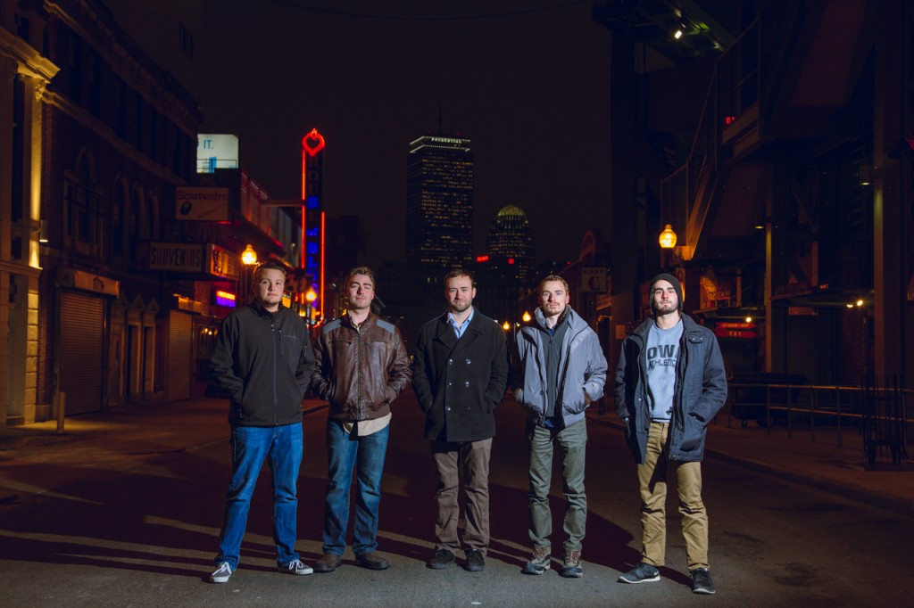 Picture of the Boston Based Band Drunken Logic
