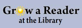 Grow a Reader @ the Library Logo