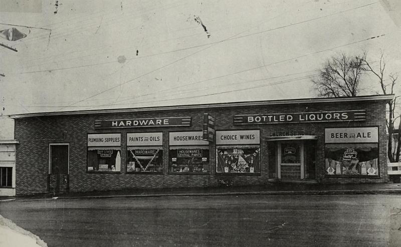 Church Street Hardware circa 1945