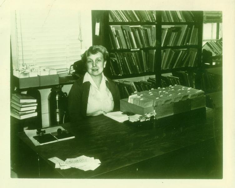Clara C Chipman, Town Librarian 1953-1967