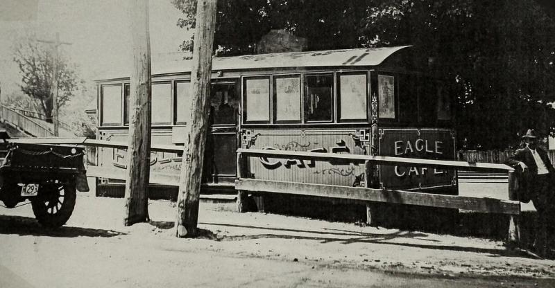 The Eagle Cafe circa 1922
