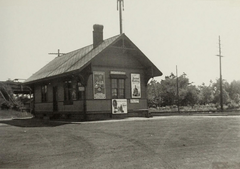 Train Station circa 1940