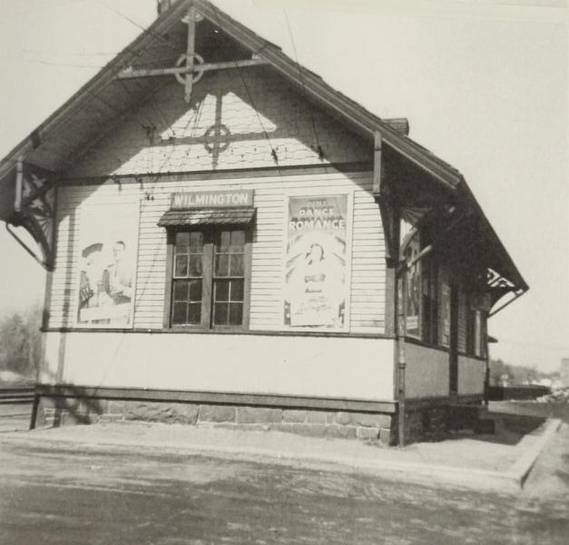 Train Station circa 1955