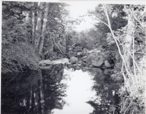 The Middlesex Canal Aquaduct at the Town Farm
