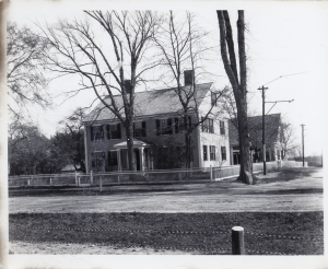 The Parsonage at the corner of Wildwood and Middlesex around 1900
