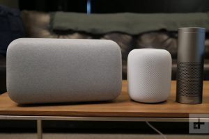 Homepod, Google, Home, Alexa