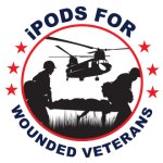 iPods for Wounded Veterans Logo
