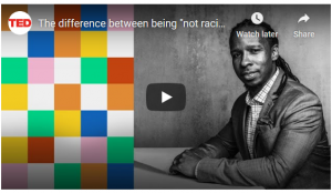 Thumbnail Image of Ibran Kendi's interview about antiracism for the Ted Talk YouTube channel
