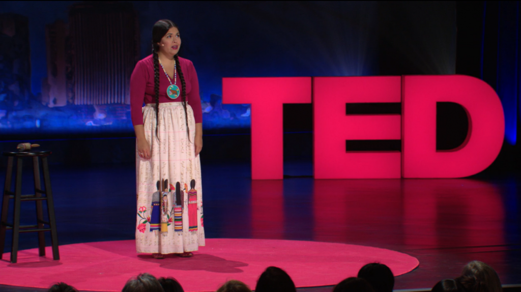Standing Rock Ted Talk Thumbmail image