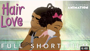 "Thumbnail image for the animated short ""Hair Love"""